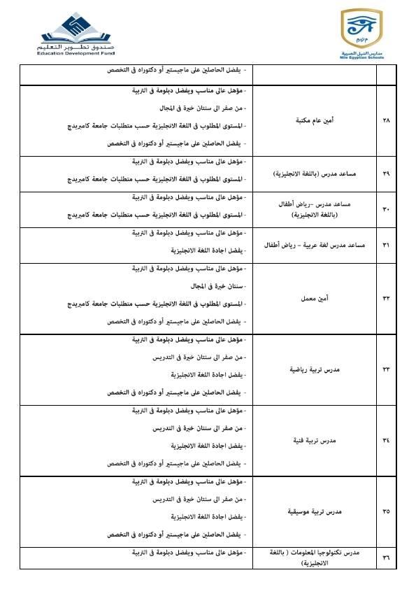 مدارس النيل 5