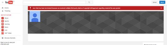اغلاق قناة عمرو دياب