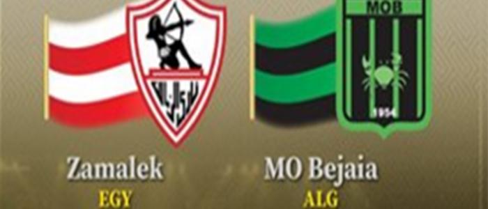 مباراة الزمالك ومولودية بجاية الجزائري اليوم