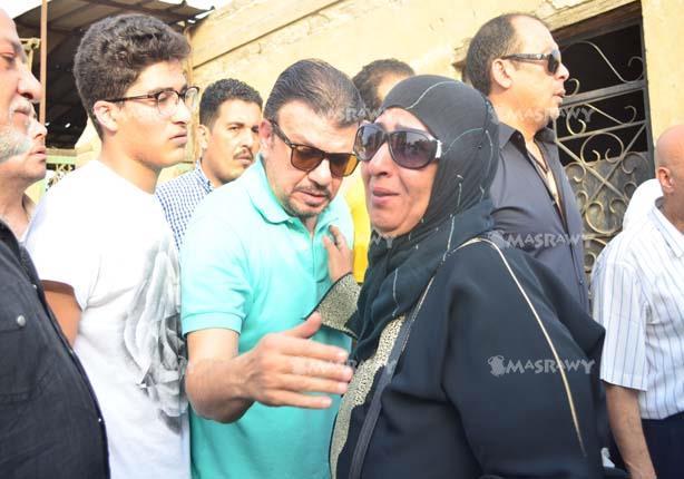 جانب من جنازة وائل نور