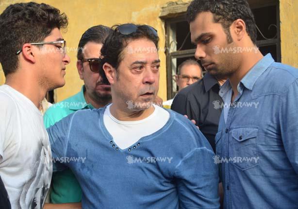 مدحت صالح فى جنازة وائل نور