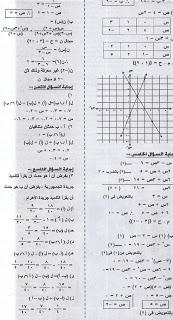 ملحق الجمهورية ينشر الأسئلة المتوقعة فى امتحان الجبر 8