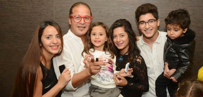 وائل نور وزوجته
