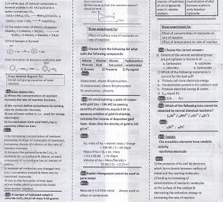 مراجعة ليلة الإمتحان الكيمياء10