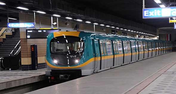 محطات مترو الانفاق الجديدة