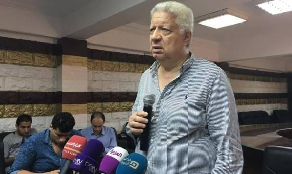 رد فعل مرتضى منصور على خروج ابنه من مجلس النواب