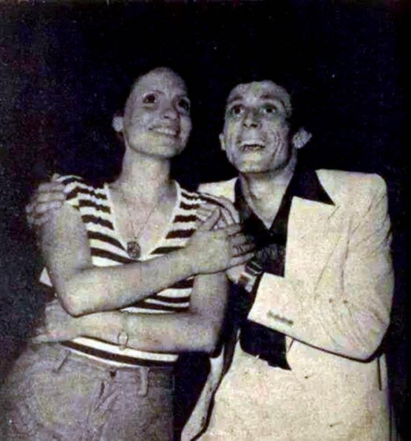 محمد صبحي وزوجته نيفين رامز